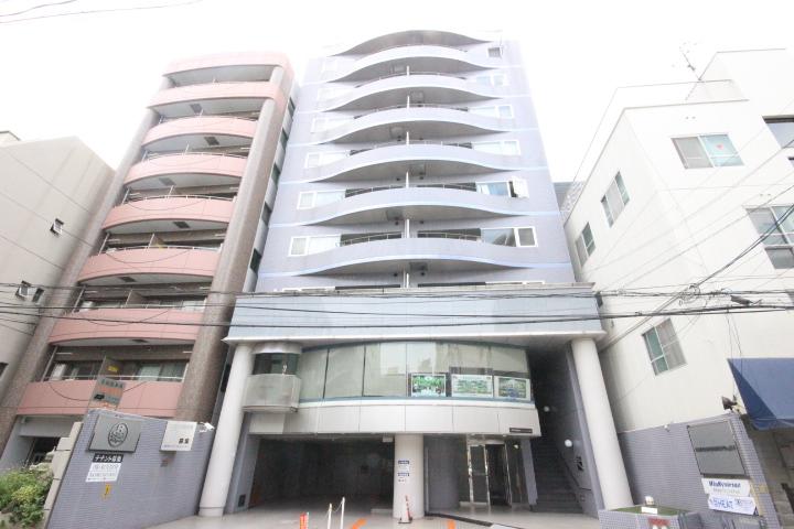 広島県広島市中区、本川町駅徒歩4分の築26年 10階建の賃貸マンション