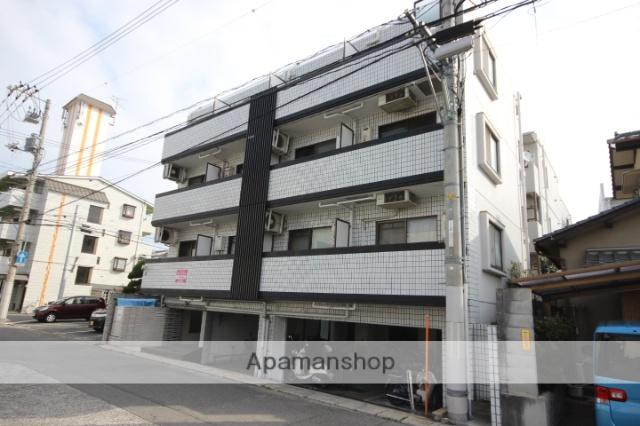 広島県広島市西区、舟入本町駅徒歩14分の築23年 4階建の賃貸マンション