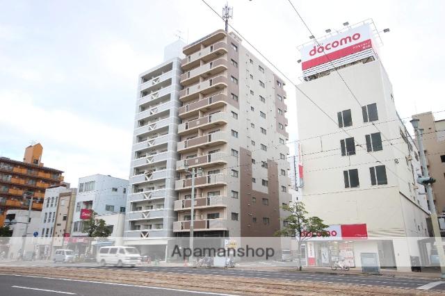 広島県広島市中区、土橋駅徒歩6分の築16年 11階建の賃貸マンション