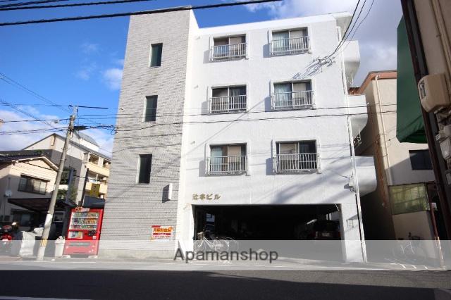 広島県広島市中区、小網町駅徒歩8分の築43年 4階建の賃貸マンション