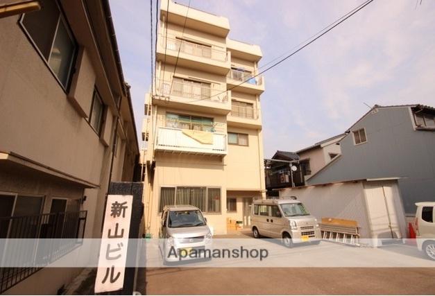 広島県広島市西区、小網町駅徒歩3分の築36年 4階建の賃貸マンション