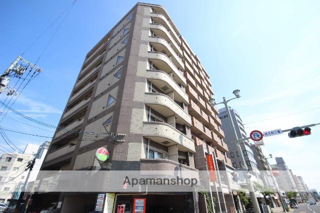 広島県広島市中区、土橋駅徒歩7分の築12年 9階建の賃貸マンション