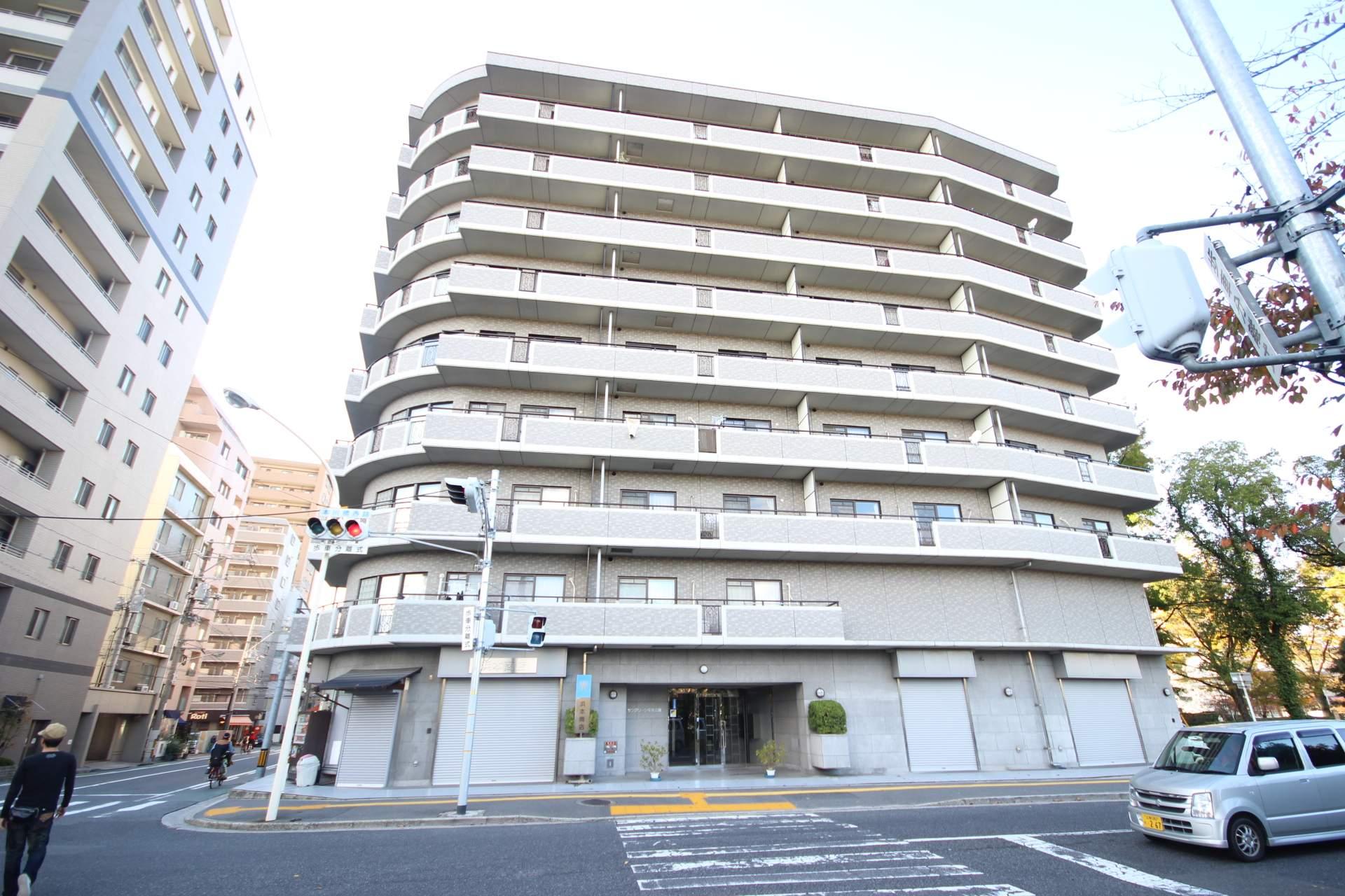 広島県広島市中区、原爆ドーム前駅徒歩7分の築16年 9階建の賃貸マンション
