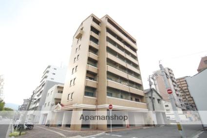 広島県広島市西区、天満町駅徒歩4分の築34年 8階建の賃貸マンション