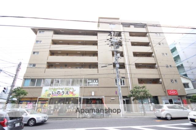 広島県広島市東区、広島駅徒歩9分の築41年 7階建の賃貸マンション