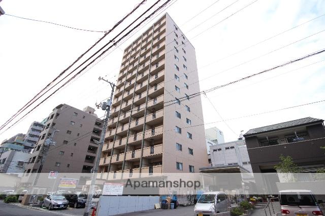 広島県広島市中区、土橋駅徒歩3分の築8年 14階建の賃貸マンション