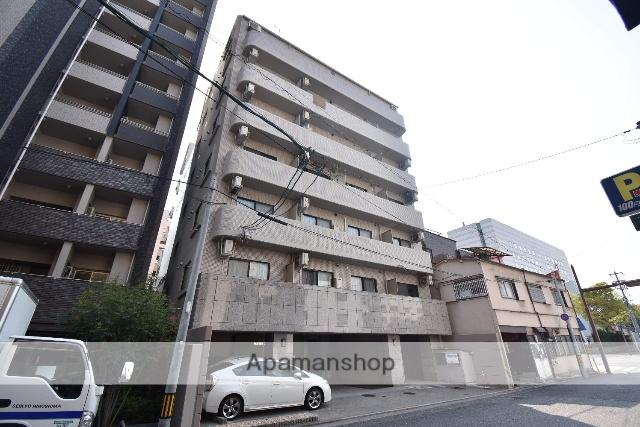 広島県広島市中区、市役所前駅徒歩9分の築20年 8階建の賃貸マンション
