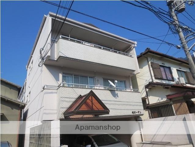 広島県広島市東区、新白島駅徒歩12分の築30年 3階建の賃貸マンション