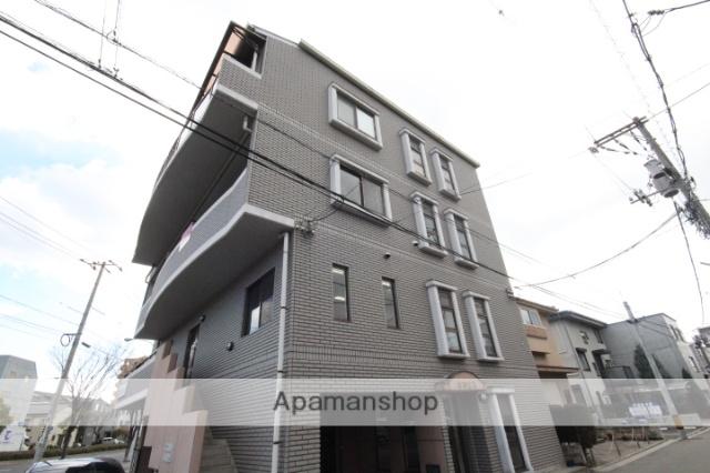広島県広島市南区、南区役所前駅徒歩9分の築17年 4階建の賃貸マンション