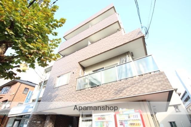広島県広島市南区、比治山橋駅徒歩7分の築9年 4階建の賃貸マンション
