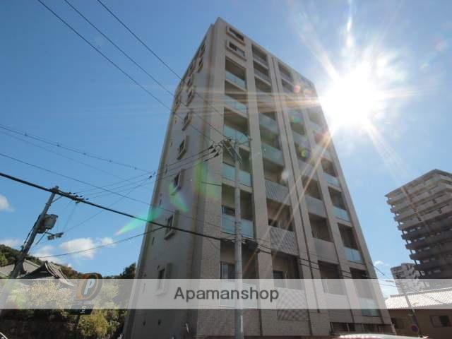 広島県広島市東区、広島駅徒歩10分の築6年 9階建の賃貸マンション