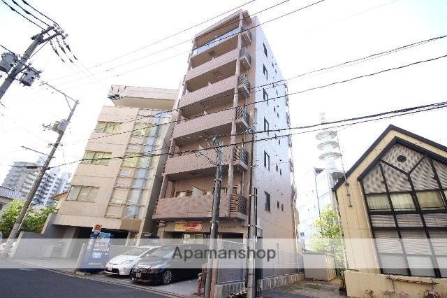 広島県広島市中区、御幸橋駅徒歩4分の築10年 7階建の賃貸マンション