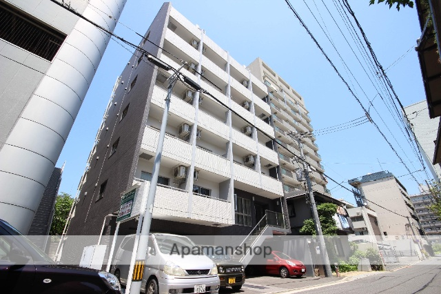 広島県広島市中区、比治山橋駅徒歩8分の築4年 7階建の賃貸マンション