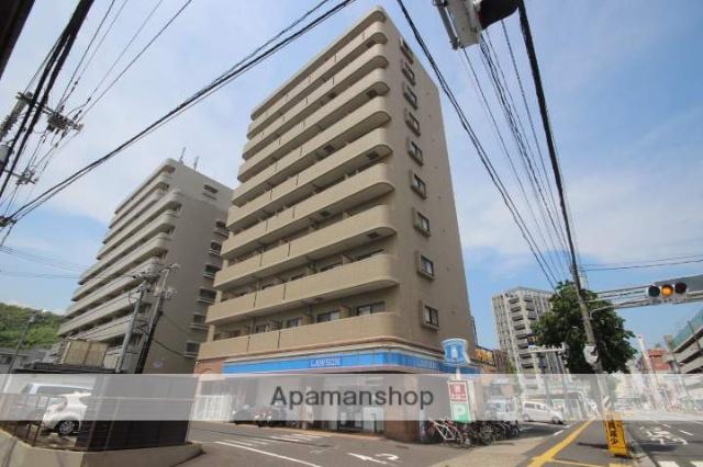 広島県広島市西区、西広島駅徒歩7分の築16年 10階建の賃貸マンション