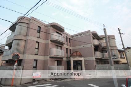 広島県広島市南区、県病院前駅徒歩15分の築27年 3階建の賃貸マンション