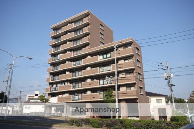 広島県広島市中区、御幸橋駅徒歩7分の築16年 9階建の賃貸マンション