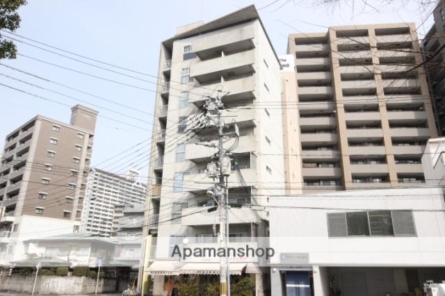 広島県広島市西区、横川駅駅徒歩6分の築18年 9階建の賃貸マンション