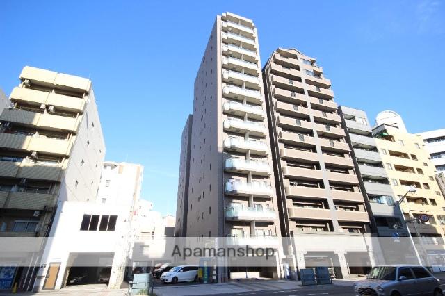 広島県広島市中区、市役所前駅徒歩11分の築2年 14階建の賃貸マンション