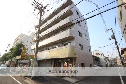 広島県広島市中区、御幸橋駅徒歩21分の築21年 5階建の賃貸マンション