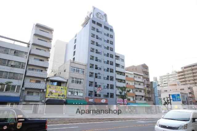 広島県広島市南区、猿猴橋町駅徒歩6分の築18年 11階建の賃貸マンション