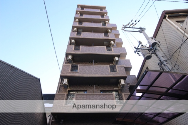 広島県広島市中区、比治山橋駅徒歩6分の築16年 8階建の賃貸マンション