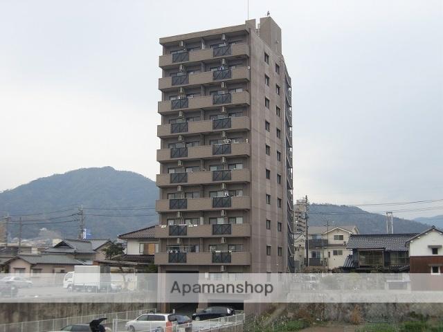 広島県広島市安佐南区、古市橋駅徒歩10分の築17年 10階建の賃貸マンション
