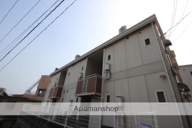 広島県広島市東区、矢賀駅徒歩18分の築28年 2階建の賃貸アパート