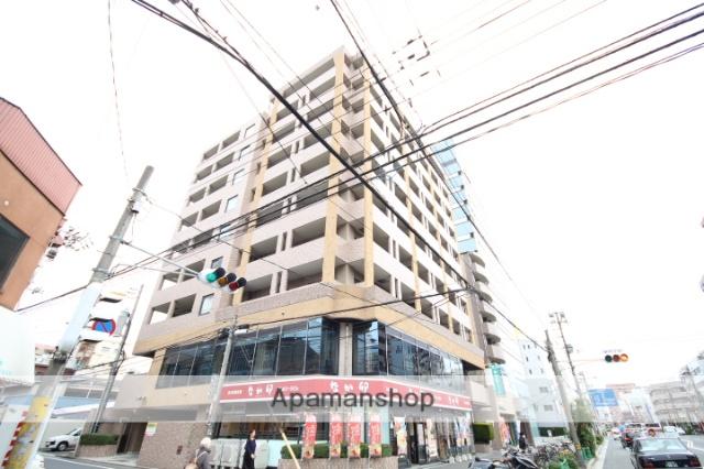 広島県広島市中区、本川町駅徒歩7分の築21年 10階建の賃貸マンション