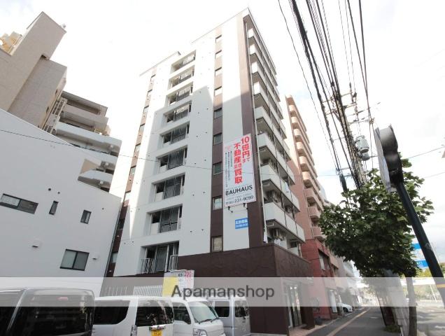 広島県広島市南区、縮景園前駅徒歩12分の築20年 10階建の賃貸マンション