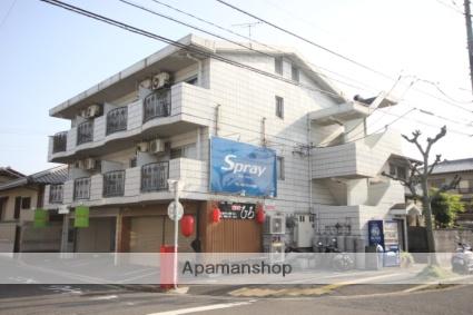 広島県広島市西区、新井口駅徒歩6分の築23年 3階建の賃貸マンション