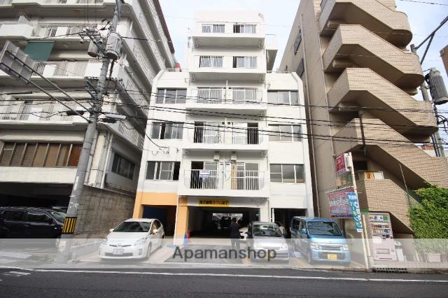 広島県広島市中区、市役所前駅徒歩7分の築44年 6階建の賃貸マンション