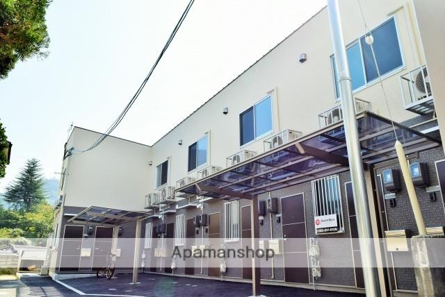 広島県広島市南区、比治山橋駅徒歩25分の築1年 2階建の賃貸アパート