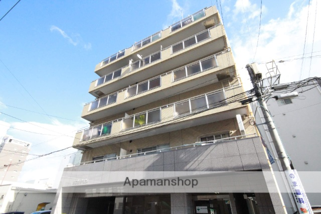 広島県広島市中区、日赤病院前駅徒歩5分の築30年 8階建の賃貸マンション