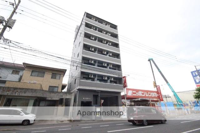 広島県広島市西区、東高須駅徒歩12分の築19年 7階建の賃貸マンション