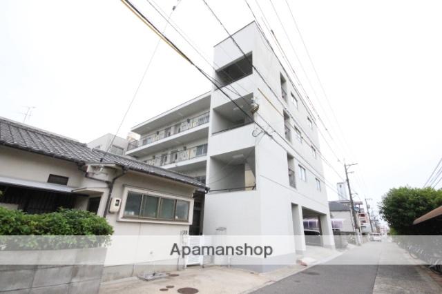 広島県広島市西区、東高須駅徒歩1分の築36年 4階建の賃貸マンション