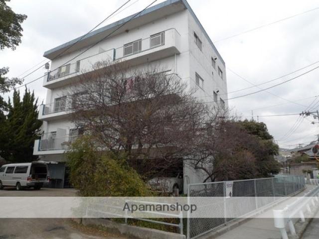 広島県広島市西区、西広島駅徒歩5分の築34年 4階建の賃貸マンション