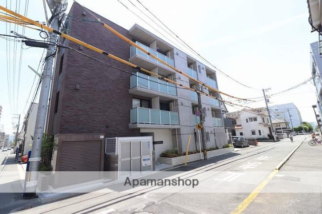 広島県広島市南区、宇品四丁目駅徒歩6分の新築 4階建の賃貸マンション