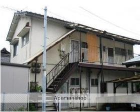 広島県広島市南区、向洋駅徒歩22分の築47年 2階建の賃貸アパート