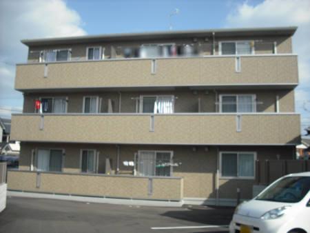 広島県広島市安佐南区、古市橋駅徒歩7分の築7年 3階建の賃貸アパート