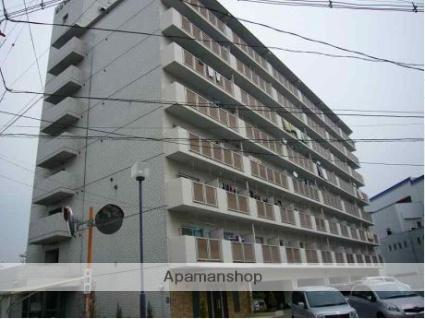 広島県広島市南区、猿猴橋町駅徒歩25分の築31年 8階建の賃貸マンション