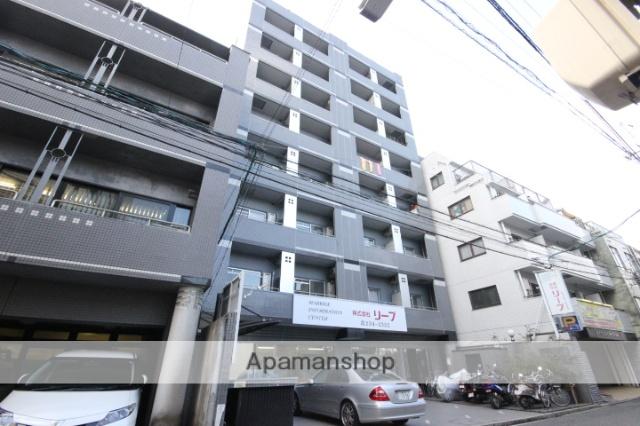 広島県広島市中区、本川町駅徒歩4分の築26年 9階建の賃貸マンション
