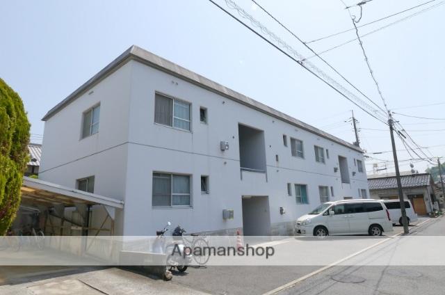 広島県広島市安佐南区、三滝駅徒歩18分の築40年 2階建の賃貸マンション