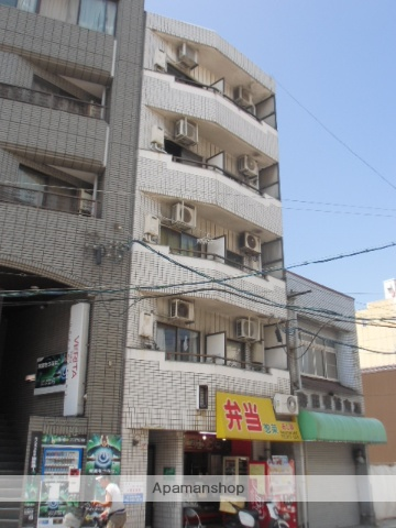 広島県広島市南区、広島駅徒歩3分の築34年 5階建の賃貸マンション