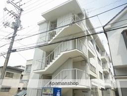 広島県広島市西区、観音町駅徒歩11分の築46年 4階建の賃貸マンション