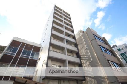 広島県広島市中区、日赤病院前駅徒歩3分の築2年 10階建の賃貸マンション