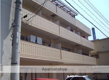 広島県広島市西区、観音町駅徒歩12分の築36年 4階建の賃貸マンション