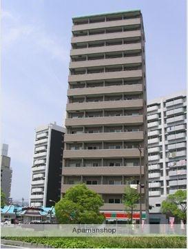 広島県広島市中区、新白島駅徒歩4分の築11年 14階建の賃貸マンション
