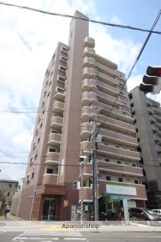 広島県広島市東区、新白島駅徒歩14分の築16年 11階建の賃貸マンション
