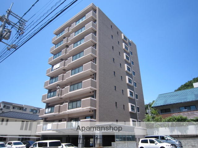 広島県広島市東区、白島駅徒歩17分の築12年 9階建の賃貸マンション