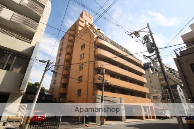 広島県広島市中区、稲荷町駅徒歩8分の築28年 14階建の賃貸マンション